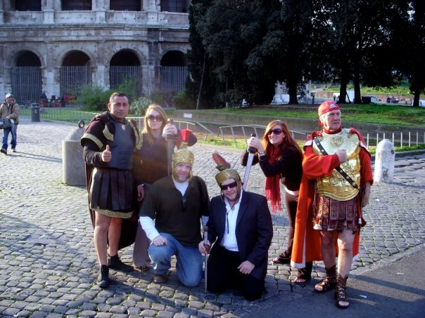 Students and Old School Romans
